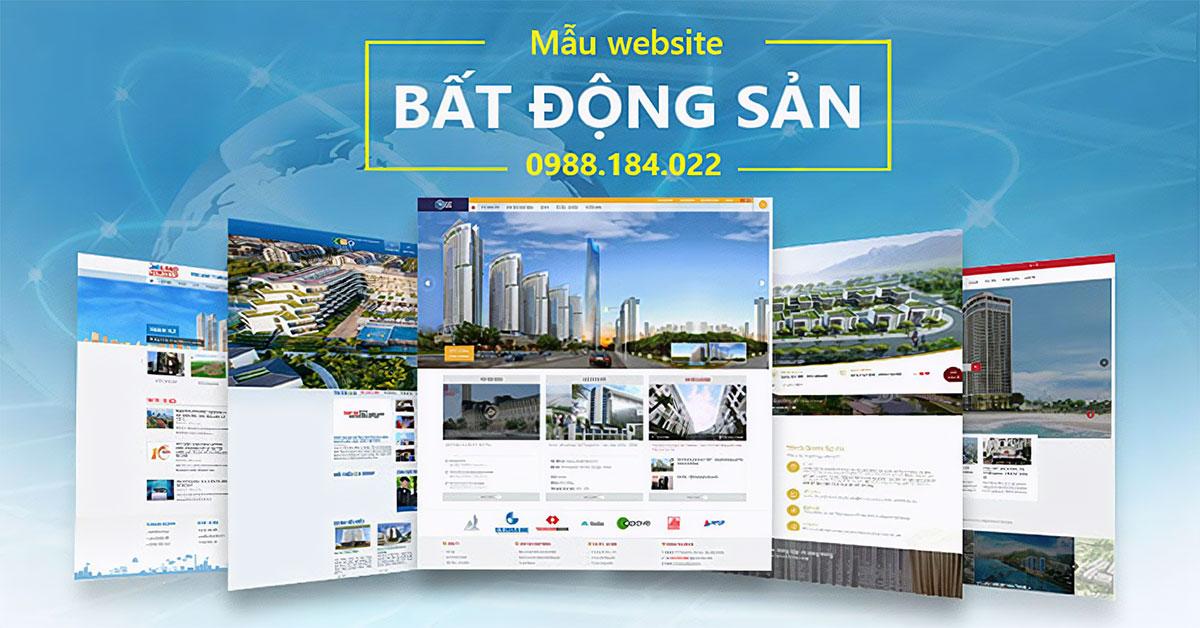 Thiết kế website bất động sản chuyên nghiệp hiệu quả nhất