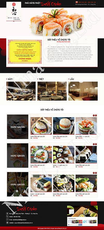 Nhà hàng Nhật Sushi Osaka