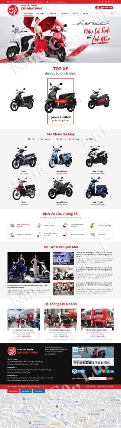 Xe máy Kim Nhật Phát