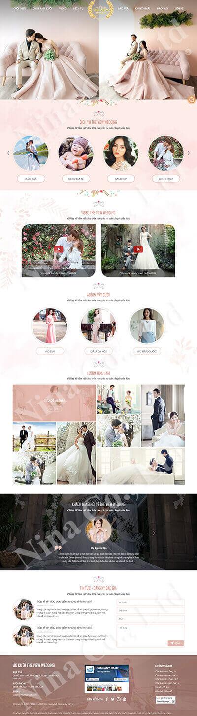 Áo cưới The View Wedding