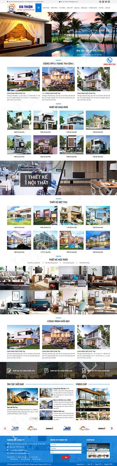 Thiết kế và xây dựng Gia Thuận