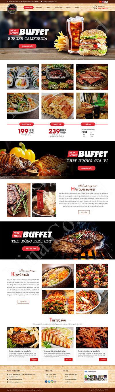 Hàn Quốc Buffet