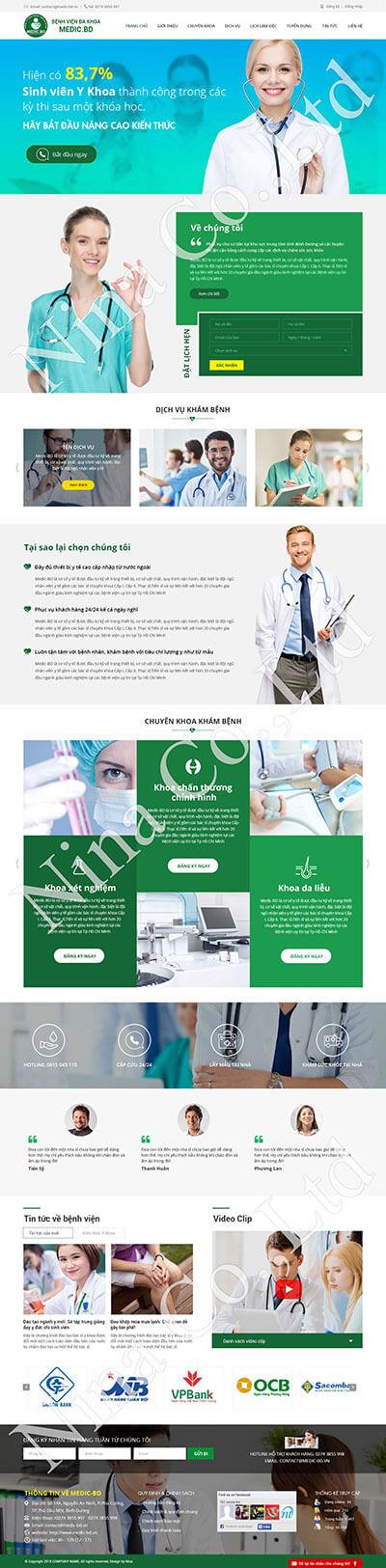 Bệnh viện Đa khoa Medic.BD