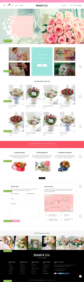 Web bán hoa