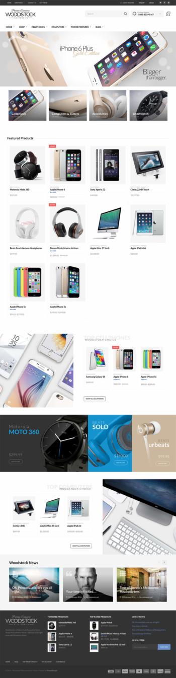 Web điện thoại