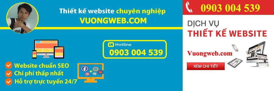 Dịch vụ thiết kế website huyện hóc môn